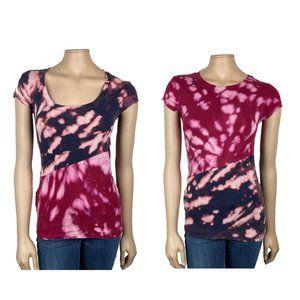 Refashioned Tie Dye T Shirt Set